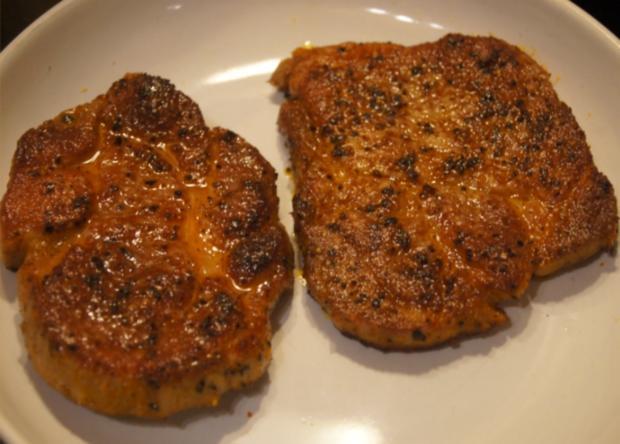 Paprika Steak mit Beilagen III - Rezept - Bild Nr. 5205