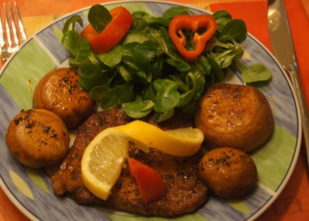 Paprika Steak mit Beilagen III - Rezept - Bild Nr. 5208