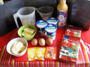 Mohnkuchen mit Eierlikör Rahmguss - Rezept - Bild Nr. 5214