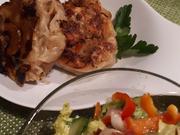 Kraut-Krapfen mit Salatbeilage - Rezept - Bild Nr. 5230