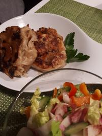 Rezept: Kraut-Krapfen mit Salatbeilage