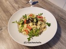 Pasta mit Brokkoli in Käsesauce - Rezept - Bild Nr. 5226