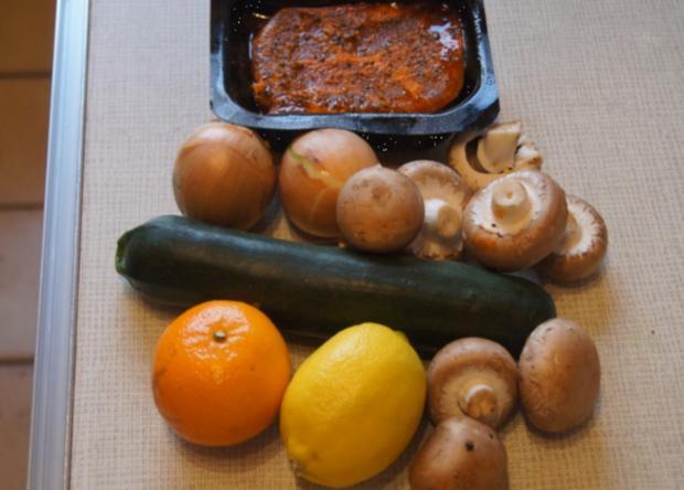 Paprika Steak mit Beilagen IV - Rezept - Bild Nr. 5234
