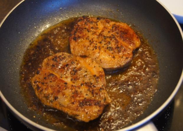 Paprika Steak mit Beilagen IV - Rezept - Bild Nr. 5239