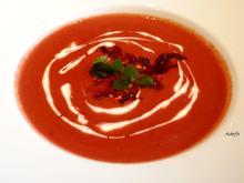 Fruchtige Rote Bete - Creme - Suppe - Rezept - Bild Nr. 5232