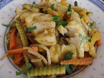 Asiatischer Fisch-Wok - Rezept - Bild Nr. 5237