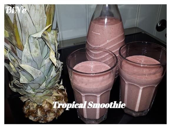 BiNe ` S TROPICAL SMOOTHIE - Rezept - Bild Nr. 2