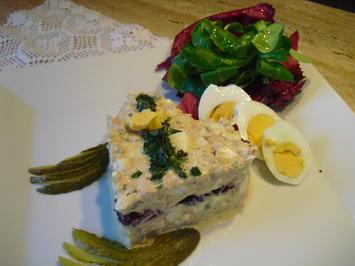 Rezept: Eier-Thunfisch-Salat mit selbstgem. Mayo