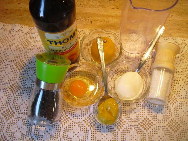 Eier-Thunfisch-Salat mit selbstgem. Mayo - Rezept - Bild Nr. 5248
