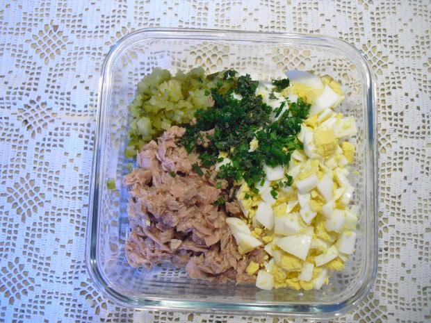 Eier-Thunfisch-Salat mit selbstgem. Mayo - Rezept - Bild Nr. 5256