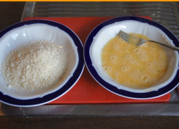 Pangasius-Filet mit Rosenkohl und pikanten Kartoffelstampf - Rezept - Bild Nr. 5256