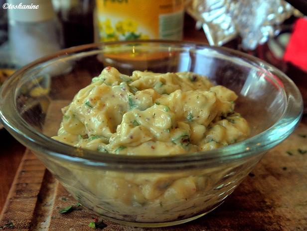 Ingwer-Kotlett mit Süßkartoffel-Pommes, Zitronen-Koriander-Majo - Rezept - Bild Nr. 5286