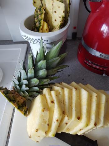 Toast à la Hawai  (schnelle Variante) - Rezept - Bild Nr. 5279