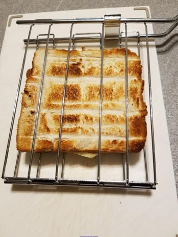 Toast à la Hawai  (schnelle Variante) - Rezept - Bild Nr. 5282