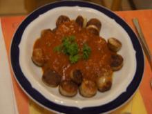 Currywurst mit selbst gemachter Sauce - Rezept - Bild Nr. 5282