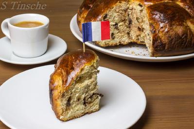 Rezept: Französische Schoko-Brioche