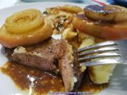 Fleisch / Innereien = Kalbsleber à la Biggi - Rezept - Bild Nr. 5309