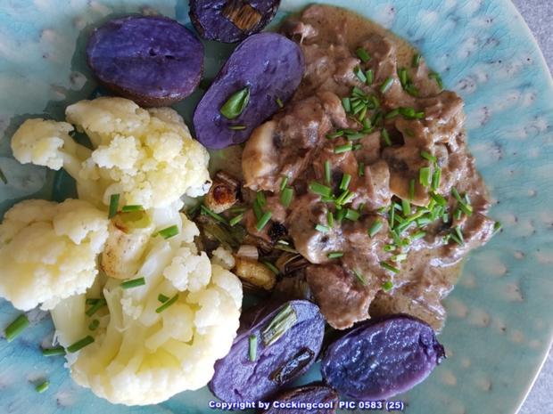 Fleisch / Rind = Rindergulasch ohne Röstaromen  à la Biggi - Rezept - Bild Nr. 5375