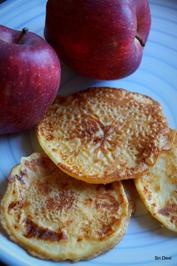 Rezept: Apfel im Pfannkuchenteig