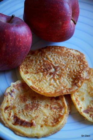 Apfel im Pfannkuchenteig - Rezept - Bild Nr. 2