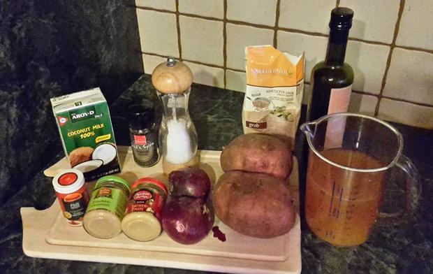 Süßkartoffelsuppe mit Ingwer - Rezept - Bild Nr. 5311