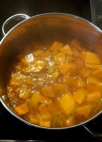Süßkartoffelsuppe mit Ingwer - Rezept - Bild Nr. 5313