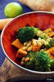 Süßkartoffel-Bohnen-Brokkoli-Curry - Rezept - Bild Nr. 2