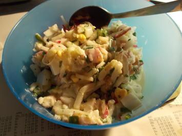 Rezept: Salat - Räucherfischsalat