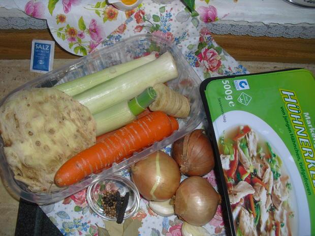 Geflügel-Gemüse-Brühe auf Vorrat - Rezept - Bild Nr. 5321