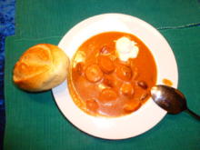 Curry-Wurst-Suppe - Rezept - Bild Nr. 5324