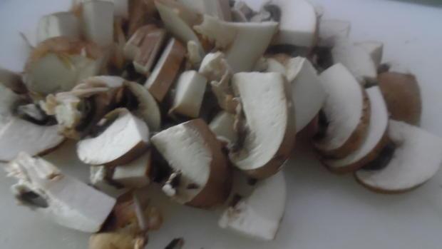 Nudel-Auflauf mit Geschnetzeltem vom Schweinefilet und Champignons - Rezept - Bild Nr. 5355