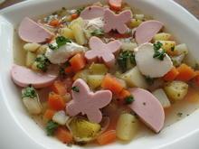 Gemüsesuppe mit Fleischwurst - Rezept - Bild Nr. 5350