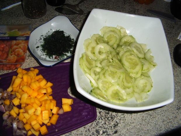 Gurkensalat - Rezept - Bild Nr. 5352