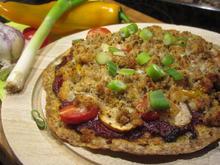 Pikantes Backen: Pfannenpizza - Rezept - Bild Nr. 5351