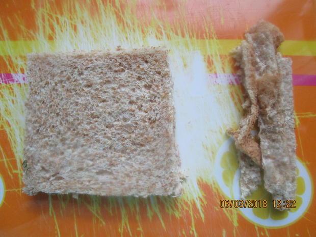 Steinbeißer Filet mit kalter Paprikasauce und Zucchinigemüse - Rezept - Bild Nr. 5368