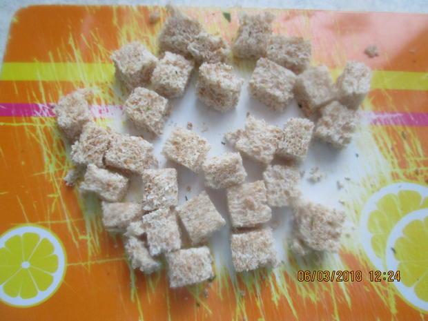 Steinbeißer Filet mit kalter Paprikasauce und Zucchinigemüse - Rezept - Bild Nr. 5369