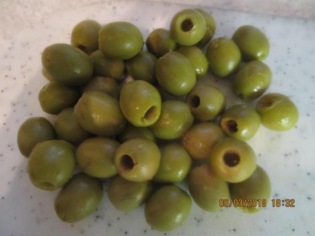 Steinbeißer Filet mit kalter Paprikasauce und Zucchinigemüse - Rezept - Bild Nr. 5378