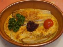 Gebackenes Chicorée Omelett - Rezept - Bild Nr. 5352