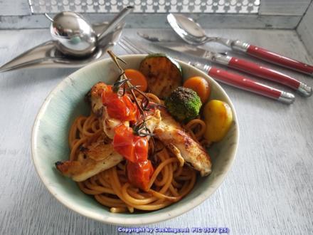 Rote Spaghetti (mit Knoblauch und Chili) selbst herstellen - Rezept - Bild Nr. 5358