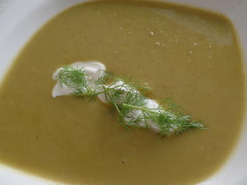 Rezept: Erbsen-Fenchel-Suppe