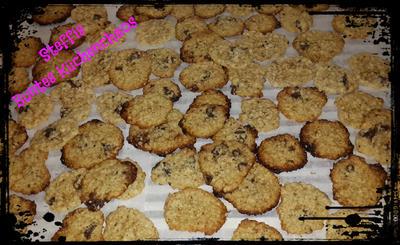 Haferflocken Cookies mit Schokostückchen - Rezept - Bild Nr. 5352