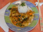 Fischcurry mit Basmati Reis - Rezept - Bild Nr. 5352