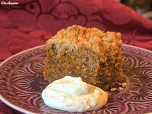 Möhren-Streuselkuchen mit Orangenschmand - Rezept - Bild Nr. 2