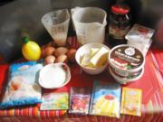 Kokos Mascarpone Käse Kuchen mit Kirschen - Rezept - Bild Nr. 5395