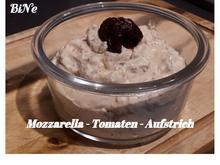 BiNe` S MOZZARELLA - TOMATEN - AUFSTRICH - Rezept - Bild Nr. 5397