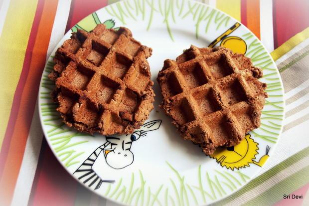 Frühstück: Schoko-Waffeln - Rezept - Bild Nr. 5416