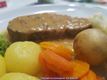 """Rezept: Fleisch / Kalb = der Sonntagsbraten ist heute ein """"Kalbsbraten""""  à la Biggi"""