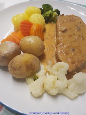 """Fleisch / Kalb = der Sonntagsbraten ist heute ein """"Kalbsbraten""""  à la Biggi - Rezept - Bild Nr. 5403"""