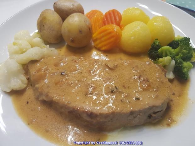 """Fleisch / Kalb = der Sonntagsbraten ist heute ein """"Kalbsbraten""""  à la Biggi - Rezept - Bild Nr. 5404"""