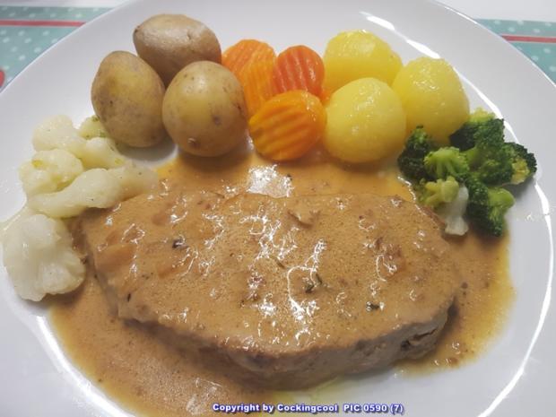 """Fleisch / Kalb = der Sonntagsbraten ist heute ein """"Kalbsbraten""""  à la Biggi - Rezept - Bild Nr. 5405"""